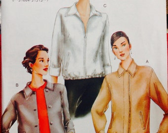 7235 Vogue Pattern Misses Jacket Size 12-14-16