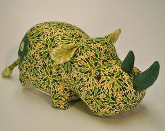 Plush Rhino Toy