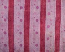 Aanya Kantha Quilt Multicolor Pink Dots Indian Fabric Tapestries Bohemian Wall Art Hanging Throw Bedspread Bedding Sheet Mandala Tapestry