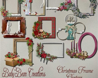 Christmas Frame Clusters 2015