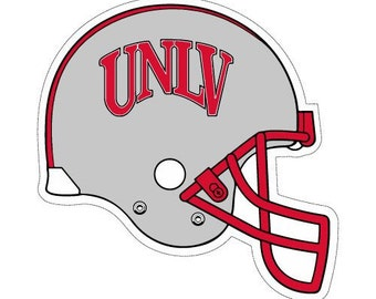 UNLV Rebels Helmet, Heat Transfer