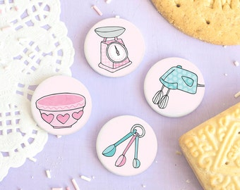Baking Badges - Those Who Bake Collection - Gift for Bakers