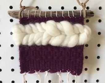 Plum Mini Weaving