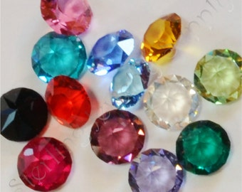 Swarovski 5mm Crystal Birthstone for Floating Lockets, Memory Locket Loose Birthstones, Wholesale Memory Lockets, USA Seller (P102)