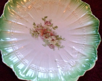 severs floral cabinet plate