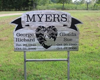Custom Grave Marker