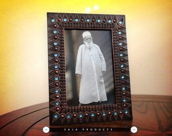 Bahai wooden frame decorative Abdul baha