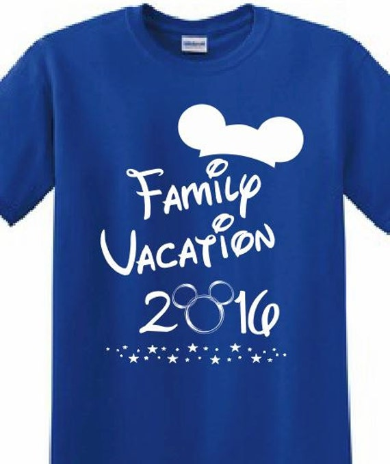 Disney mickey mouse magic kingdom customized by apollouniforms for Printed t shirts for family reunion