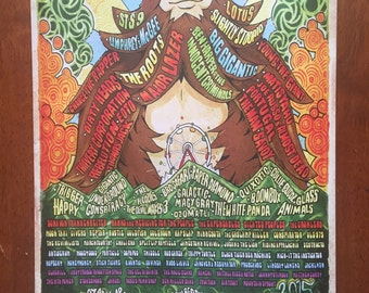 2015 or 2014 Wakarusa Poster by Alan Wolfe