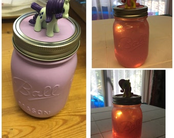Ball Mason My Little Pony jar/nightlight