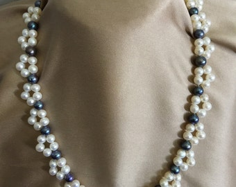 Real necklace Pearl