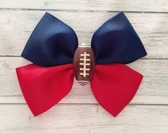 Choose Your Team Colors Football Hair Bow