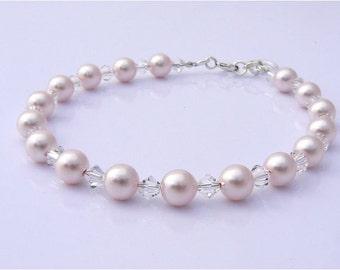 Bridal Pearl Bracelet