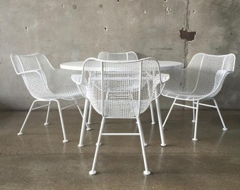 Mid Century Russell Woodard Patio Set (GRLWA9)