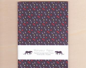 Small Prairie - black notebook