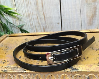 Skinny Belt, women dress belts, dress belt, thin black belt, thin waist belt, Preppy Belt, Simple Belt, thin belt, dressy belts, formal belt