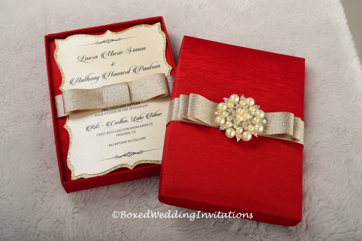 Expensive Wedding Invitation: Luxury Wedding Invitation/Couture Wedding Invitation/Wedding