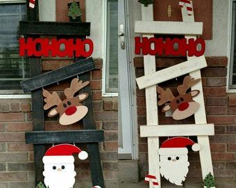 Christmas ladder kit/set