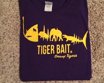 LSU tiger bait tee shirt
