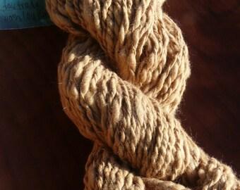Handspun Organic Cotton Yarn, fair trade, 112 yards, 2 oz