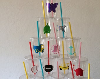 Disposable Party Cups (Set of 12)