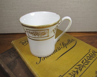 Nippon - Hand Painted - Small Teacup - Gold Accent