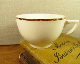 Vintage Gold Accent Teacup - Made in USA