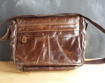 Leather Looking Messanger Bag