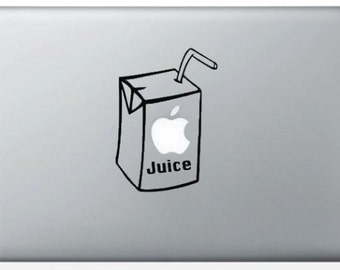 "Sticker ""Apple Juice"" for MacBook and iPad"