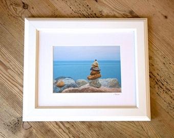 Peace ~ Point Judith, Rhode Island, Framed Artwork, Beach, Photography, Wall Art, Nautical, Coastal Decor, Photograph, Nautical Art, Joules