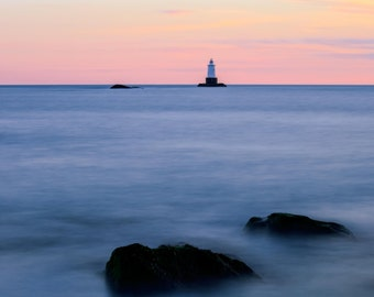 Sakonnet Lighthouse ~ Sakonnet Point, Little Compton, Rhode Island, Lighthouse, New England, Ocean, Coastal, Seascape, Art, Photograph