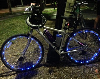LED Spoke Lights Includes a FREE 3 pack of AA batteries!