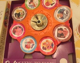 1963 Barbie's Key to Fame game by Milton Bradley