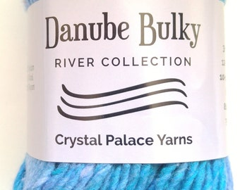 Crystal Palace Danube Bulky Yarn - Baltic Blue