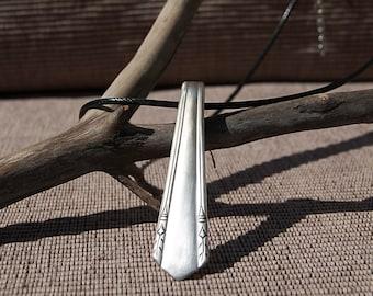 Silverware Handle Necklace - NL012