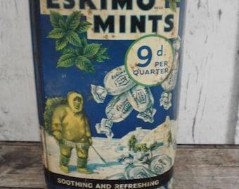 Eskimo mints tin, Oatfield sweets