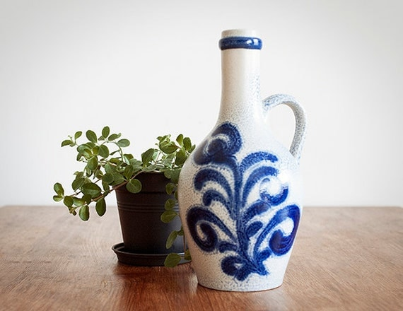 Vintage German Ceramic Water Jug