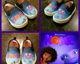 Custom Painted Kicks