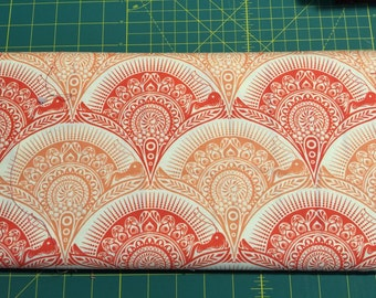 Fat Quarter Tula Pink Prince Charming coral SNAIL SCALLOP #TP11