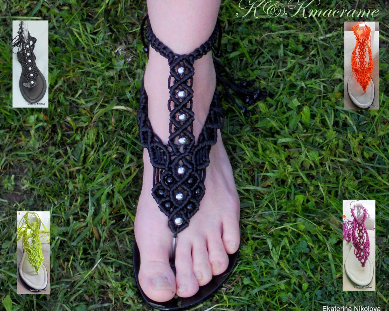 Unique Rope Women Sandals Macrame