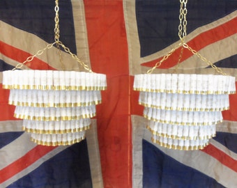 Shotgun cartridge chandelier handmade