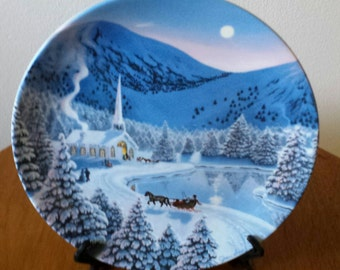 Silent Night Limited Edition Collectors Plate
