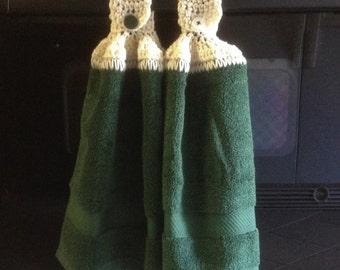 Crochet Towel Toppers