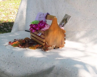 Handmade wooden Pine basket