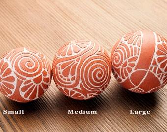Handmade Prayer Balls  for Display and Meditation (Small)