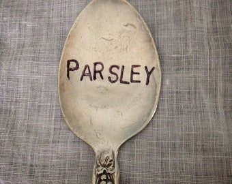 Parsley, Garden Marker