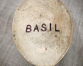 Basil, Garden Marker