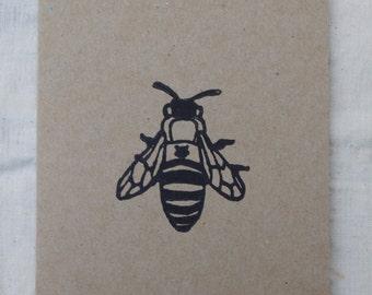 Western Honey Bee Card