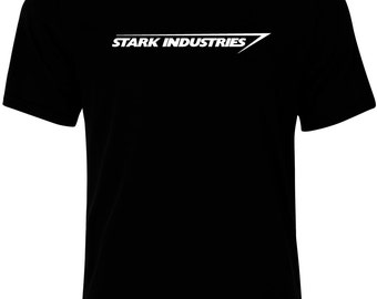 Mens Stark Industries Cotton T-Shirt