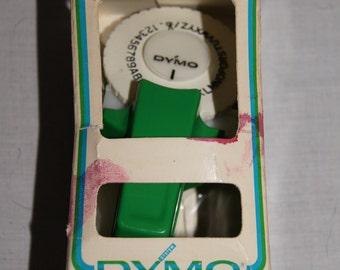 Vintage 1977 - Green Dymo Label Maker